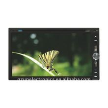6.95 inch fixed digital panel car dvd player with GPS and TV