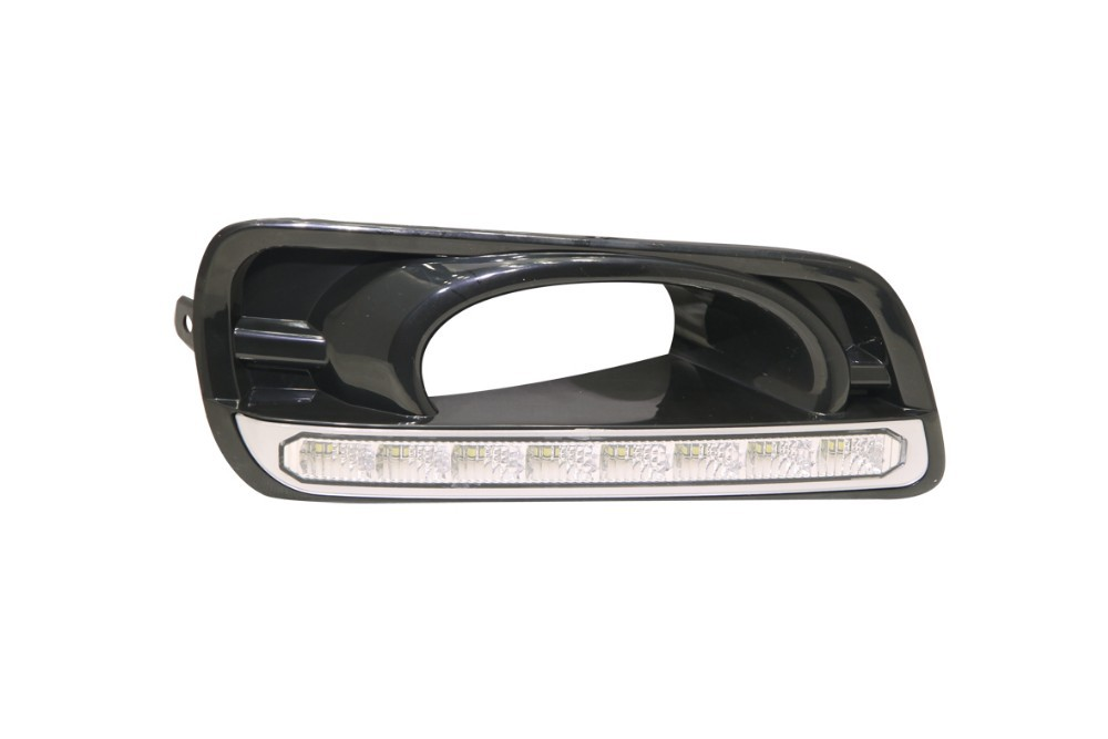 2014 new product ! car spare parts for Honda City black color 2011-2013 special Led daytime running light