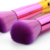 7pcs purple bristles Mermaid Makeup Brush Cosmetic Makeup Brushes Powder Concealer Foundation Brush