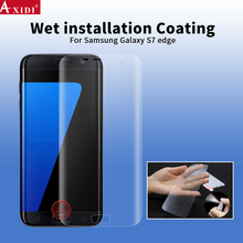 Wholesale price auto repair water installation screen protector for galaxy s7 edge