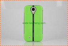 Hot Selling 2 In 1 TPU +PC Folded stents Hard Case for Samsung Galaxy S4