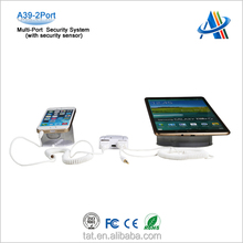 Retail open display security solution,anti-theft display device with alarm function for mobile phone