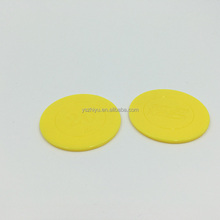 Custom Cheap Different Kinds Plastic Gold Color Game Token Coin