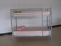 Cheap Metal Bunk Bed with Wood Salt Ladder