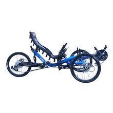TrikExplor Three Wheel Touring 20 inch Road <strong>Bike</strong> Alloy Tricycle Recumbent with Rear Suspension