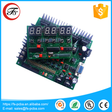 DIP components single side through hole PCB assembly