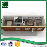 40 feet container, foldable container house
