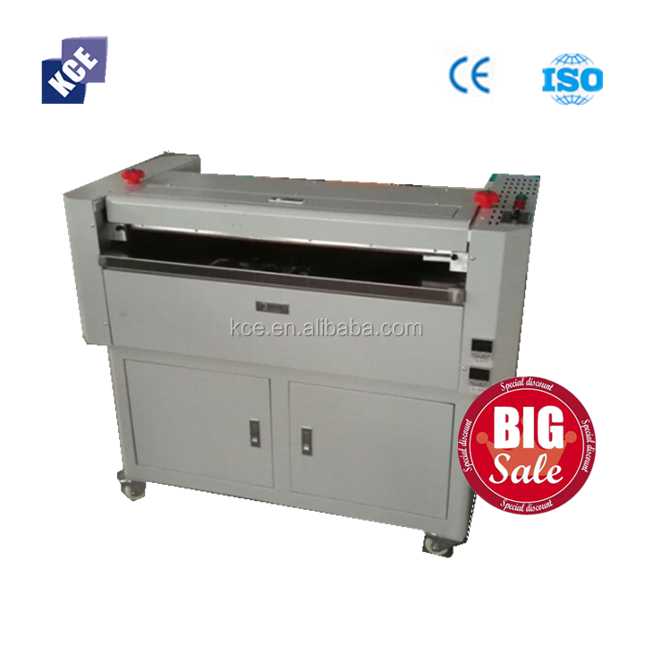 CE High quality single side hot melt glue machine for framed painting , gluing MDF, melamine board, plywood,