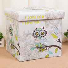 2017 new arrival 12x12 folding boxes storage
