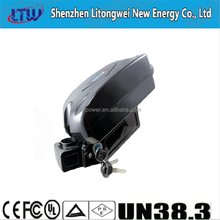 13S4P 48V 11.6ah Lithium ion battery ,Small Frog Type For Electric Bike, E-bike Battery
