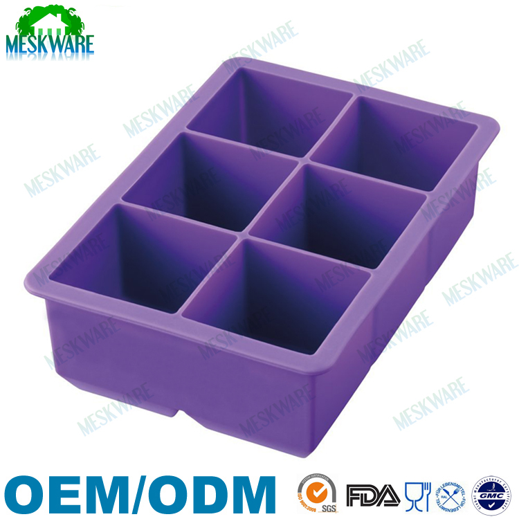 Best selling silicone ice cube tray, make your own ice tray