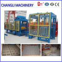 Paver brick machine/ hollow cement block making machine price