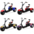 1500w three wheel electric citycoco scooter with lithium battery