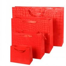 Wholesale flame retardant luminary paper bag for garment & shoe