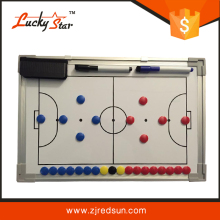 2016 zhejiang redsun high quality personalized dry erase magnetic basketball &football tactics board
