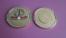 play basketball UAE flag gold souvenir plaque coins, UAE souvenir gifts metal coin