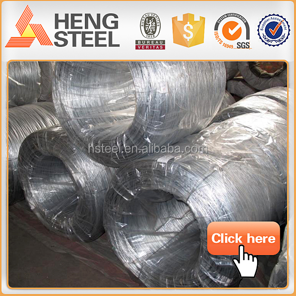 Hot dip galvanized wire for submarine cable