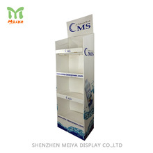 Detachable High Quality Cardboard Furniture Display Racks Book Shelf