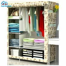 New Super Large Folding Portable Clothes Wardrobe Closet Bedroom Furniture Hot