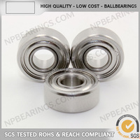 Famous brand ceramic balls miniature angle contact bearing