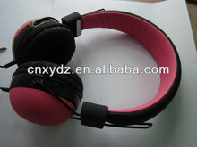 40mm headphone speaker Headphone covers fashion cover rubber silk or water transfer printing your logo