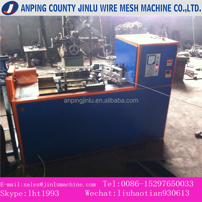 25 years professional factory all new machine semi-automatic diamond wire mesh making machine