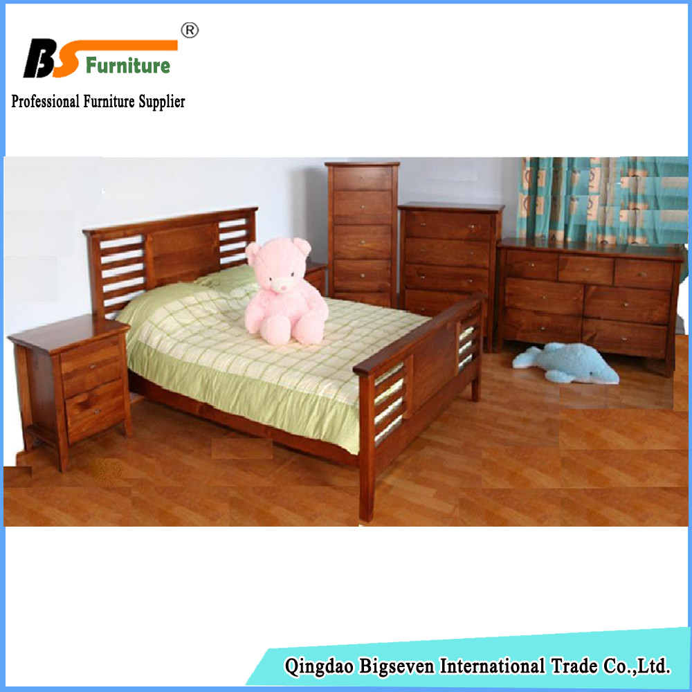 Bigseven Custom high quality pine bedroom set furniture