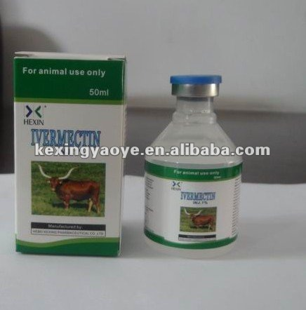 cow medicine of ivemectin 1% injection hebei kexing
