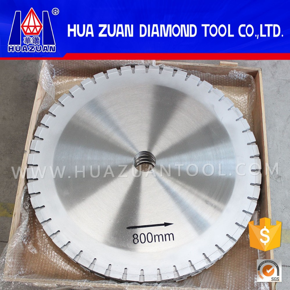 High efficiency 800mm granite rock cutting tools for sale