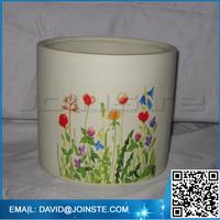 Ceramic japanese flower pots