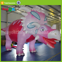 giant Chinese dragon inflatable model, pink inflatable toothless dragon for sale