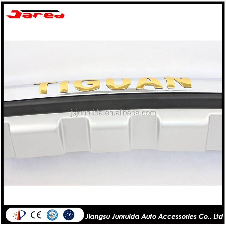 Modern useful rear bumper spoiler for vw