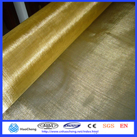 150 180 200 mesh magnetic shielding material Brass wire mesh/Copper wire mesh cloth