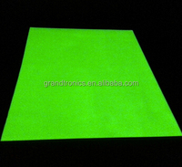 longer afterglowing time glow in the dark pigment coating luminescent film pvc sheet