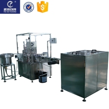 High quality body oil liquid filling machine , Easy operation shanghai factory price