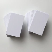 New arrival! Non-laminated plastic cards pvc material inkjet printable pvc card can make your own photo card