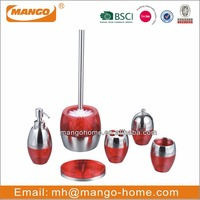 Unique Oval PS stainless steel Bathroom Set