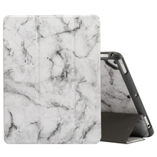 New Arrival OEM Horizontal Flip protective Case for iPad 9.7 inch with Three-folding Holder & Pen Slots