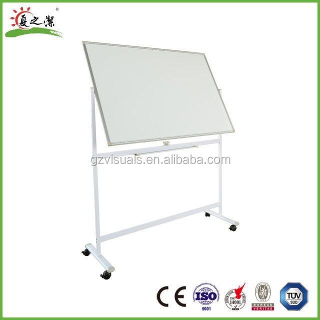 aluminium frame standard sizes movable whiteboard for office