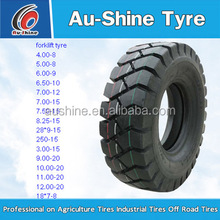 pneumatic forklift non-marking solid tire