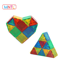 MNTL-36Pcs Block Set Magnet Toy DIY Models Puzzle Magnetic Engineering Construction Building Tiles 2017 Toddler Toys Educational