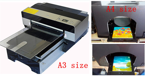 newest design digital PVC card printing machine with low print cost