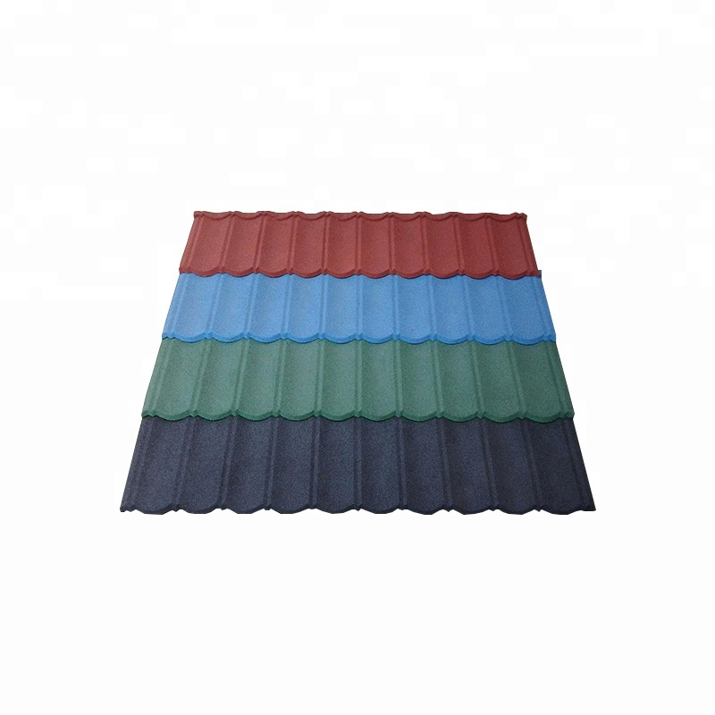 0.4mm Stone Coated Metal Euro Mgo Roof Tile