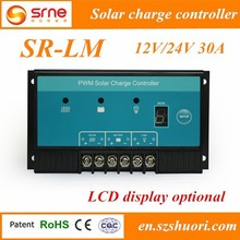 SR-LM series intelligent 10A 20A 30A solar charge controller price