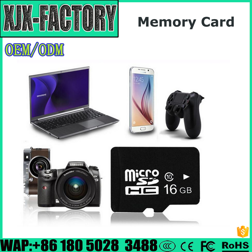 Top 3 factory!Widely Used memory card for ps vita Speed TF Memory Card Phone 1/2/4/8/16/32/64 GB
