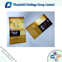2015 plastic heat sealing bag for wet tissue/wet wipes packaging