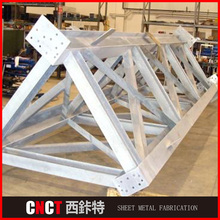 Top quality Q235 portal frame steel structure