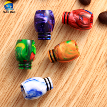 Sailing Original Ecig New Product Epoxy Resin 510 Drip Tips Dual O Rings