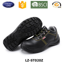 Wholesale Cheap Customized Comfortable Breathable engineering working iron steel toe cap Protective woodland safety shoes