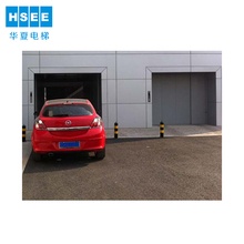 underground automatic car lift parking elevator system for home garages